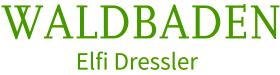 Waldbaden Logo Elfi Dressler